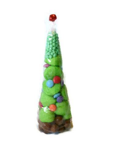Large-Christmas-pre-filled-sweet-cone-party-bag-favour