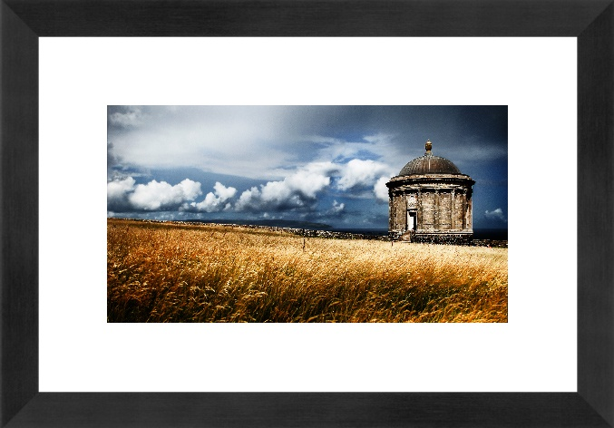 Mussenden Temple, Northern Ireland - Iconic Scenic Photograph
