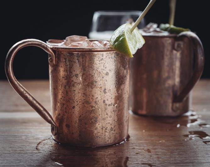 Cocktails of Hamburg: Moscow Mule