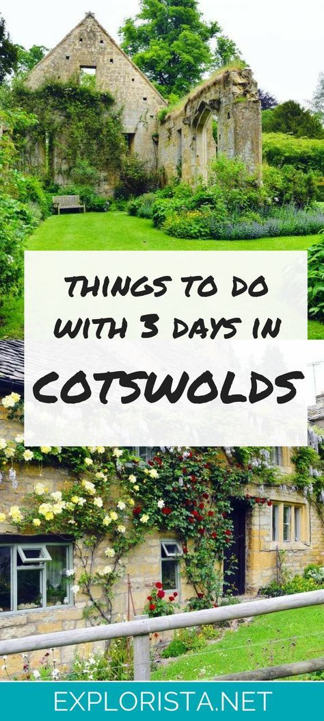 3 day itinerary for the charming Cotswolds