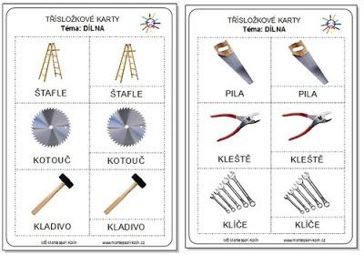 Montessori Kolín: Zdarma ke stažení  Dílna