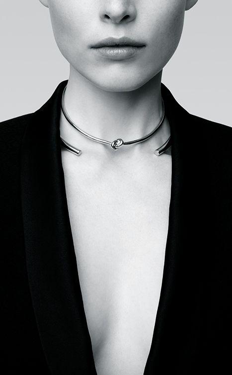 Jennifer Fisher | Knot choker + Stop It Right Now choker