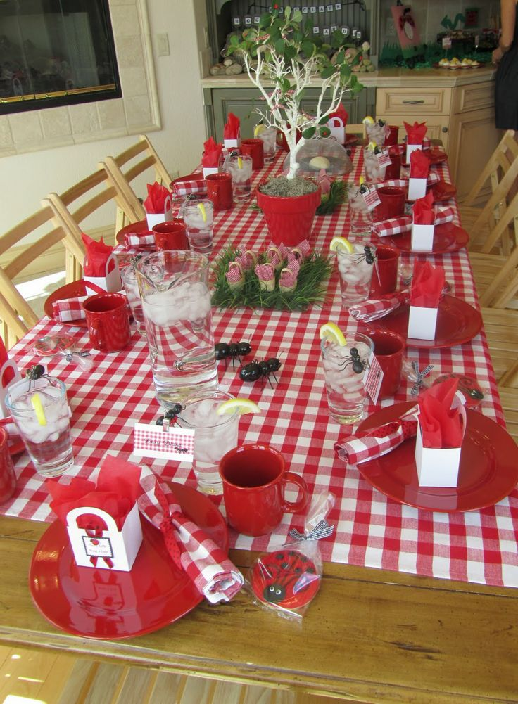 One Of My Favorites Party Decor And The Party On To The Indoor Picnic Part 98