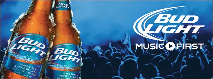 Everything is better with Bud Light!  #MusicFirst #HereWeGo #BudLight #Beer #Music