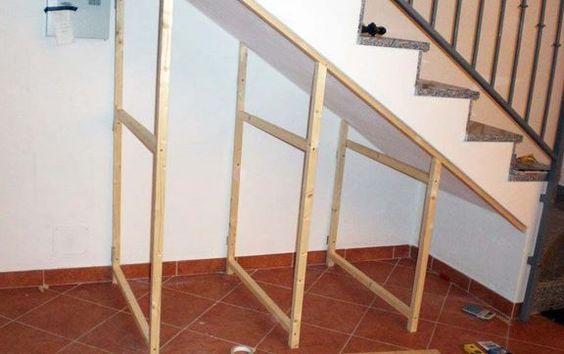 Build Understairs Storage, How To Make An Under Stairs Closet