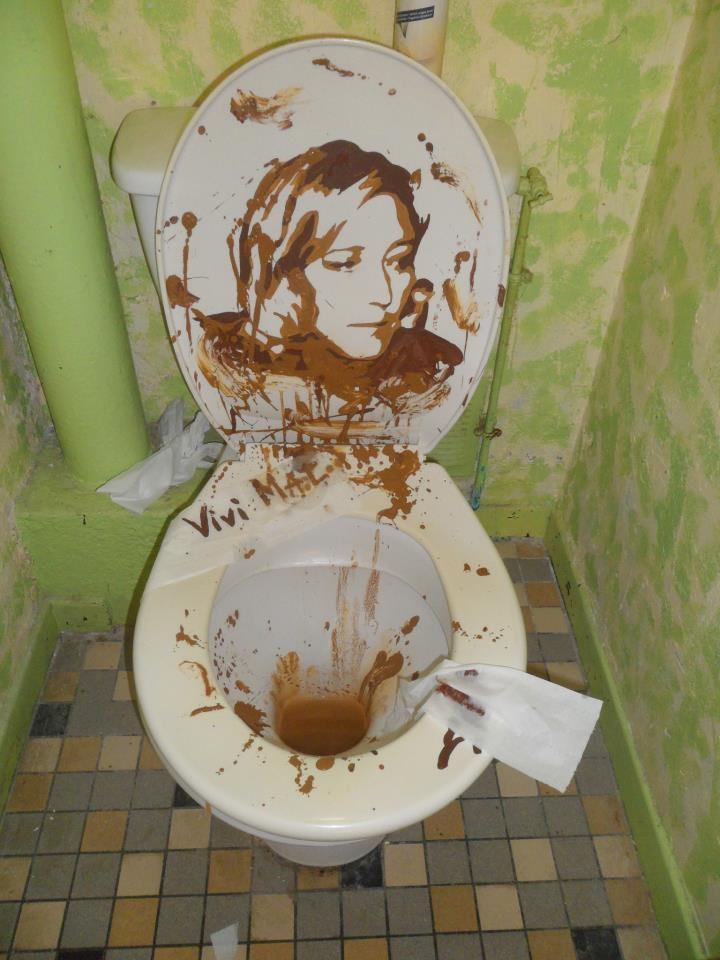 Marine Lepen WC by Vivi Mac