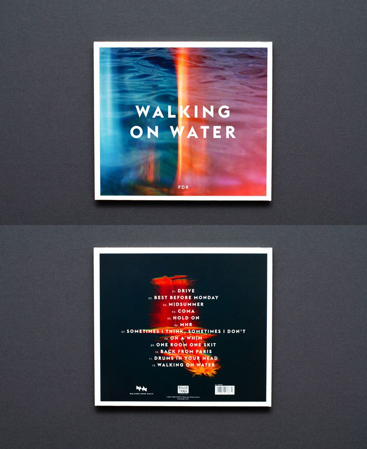 108 best album covers images on pinterest album covers cd cover pdr walking on water by lukas haider malvernweather Choice Image