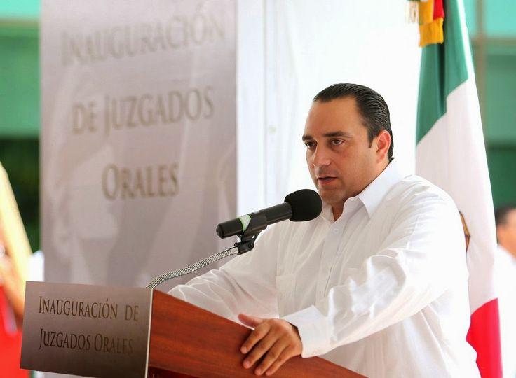 Periodismo sin Censura: INAUGURA EL GOBERNADOR ROBERTO BORGE LOS JUZGADOS ...