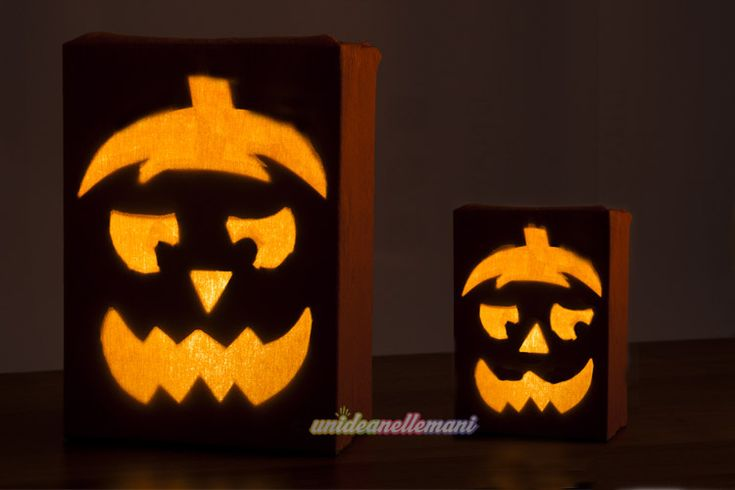 83 migliori immagini halloween craft su pinterest for Zucca halloween luminosa