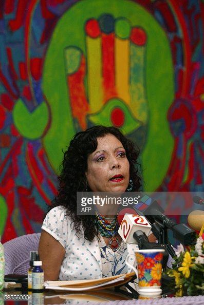 Rosario Murillo, esposa del presidente electo de Nicaragua,... #bjorkose: Rosario Murillo, esposa del presidente electo de… #bjorkose
