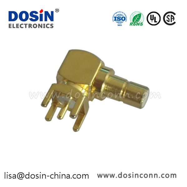 Smb Connector Pcb Mount Right Angled Female For Pcb Part No Dosin 807 0022 Tags Pcb Mount Angled 90 Jack Female 50w Material Smb Cable Modem Rf Connector