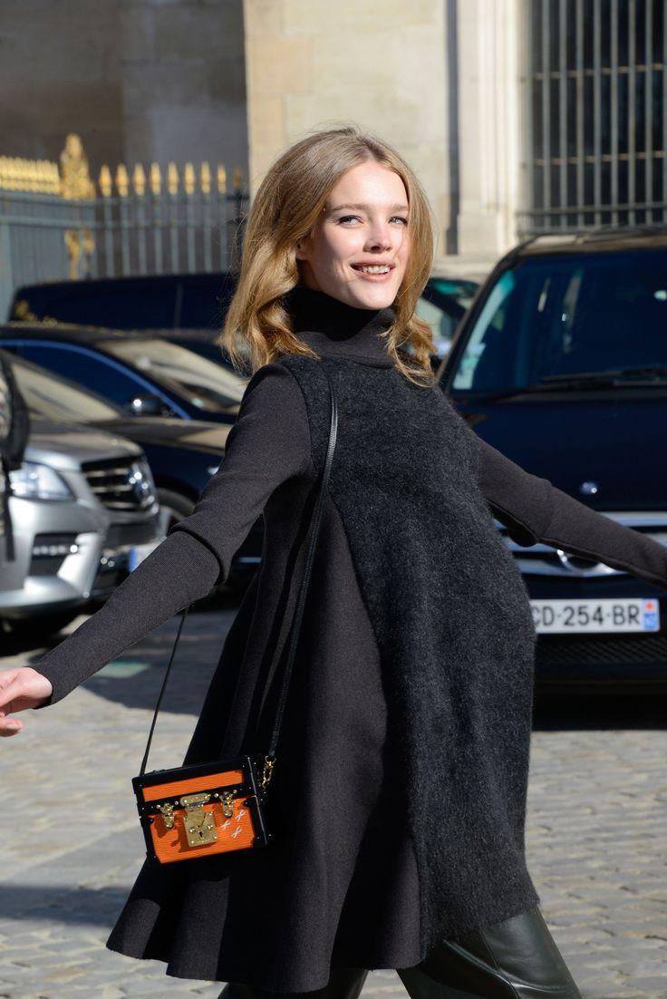 Natalia Vodianova at Louis Vuitton, March 2014