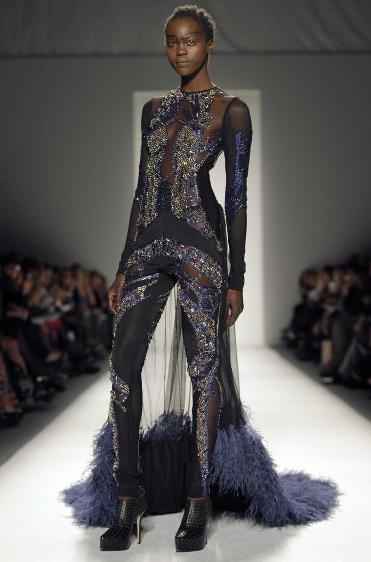 Falguni & Shane Peacock Fall 2012 Collection at Mercedes-Benz Fashion Week