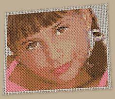 105 fantastiche immagini su cross stitch point de croix - Point de croix mariage grilles gratuites ...