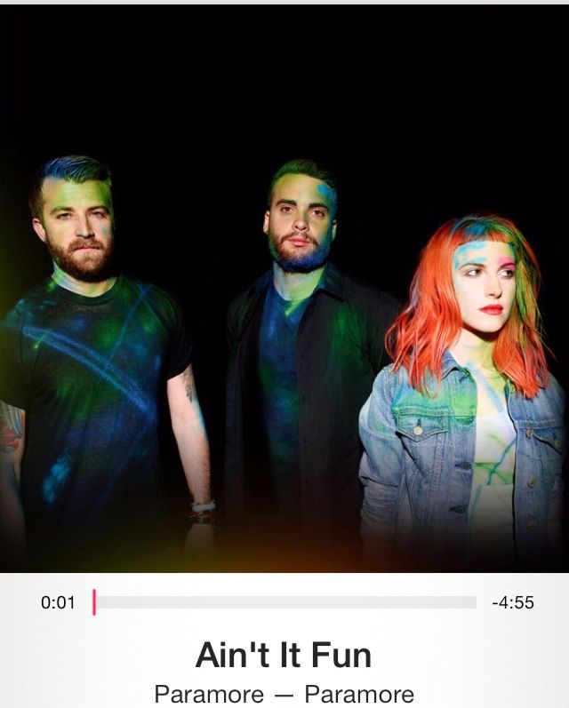 Paramore-ain't it fun | Echoes of sounds | Pinterest