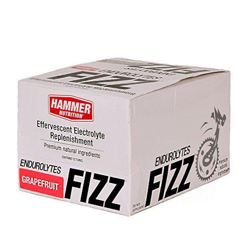 Hammer Nutrition Endurolytes Fizz - 12-Tubes Grapefruit, One Size - Men's