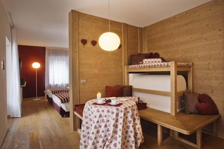 Camera Innsbruck, hotel di charme Villa Klofer Wonderland Resort a Campitello di Fassa.  #trentinocharme