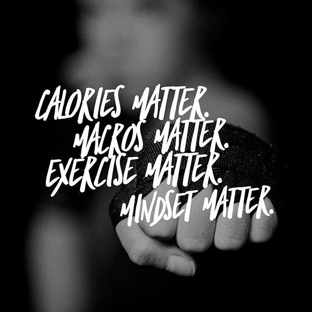 Everything matters  #fitnessmotivation