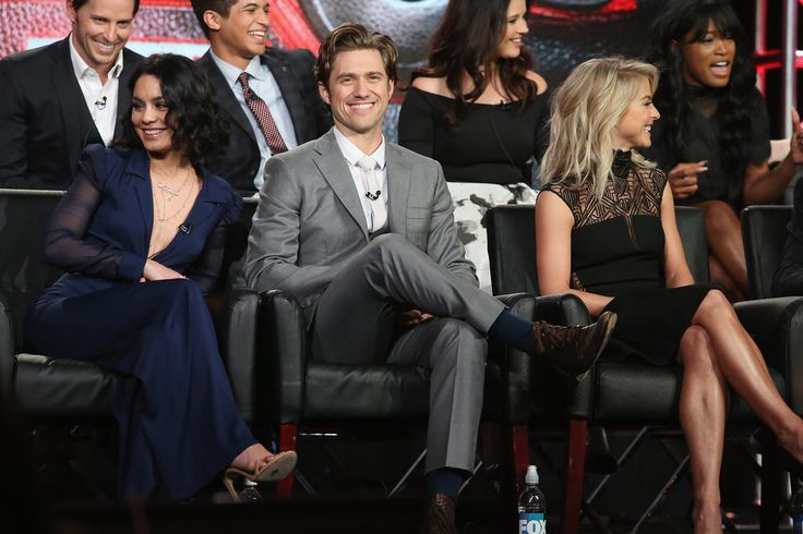 2016 FOX WINTER TCA: Cast Member Aaron Tveit during the GREASE LIVE! panel at the Langham Hotel, Friday, Jan. 15 in Pasadena, CA.