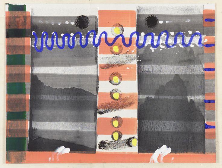 """""""ri-creazioni"""" su carta cm.80x60"""