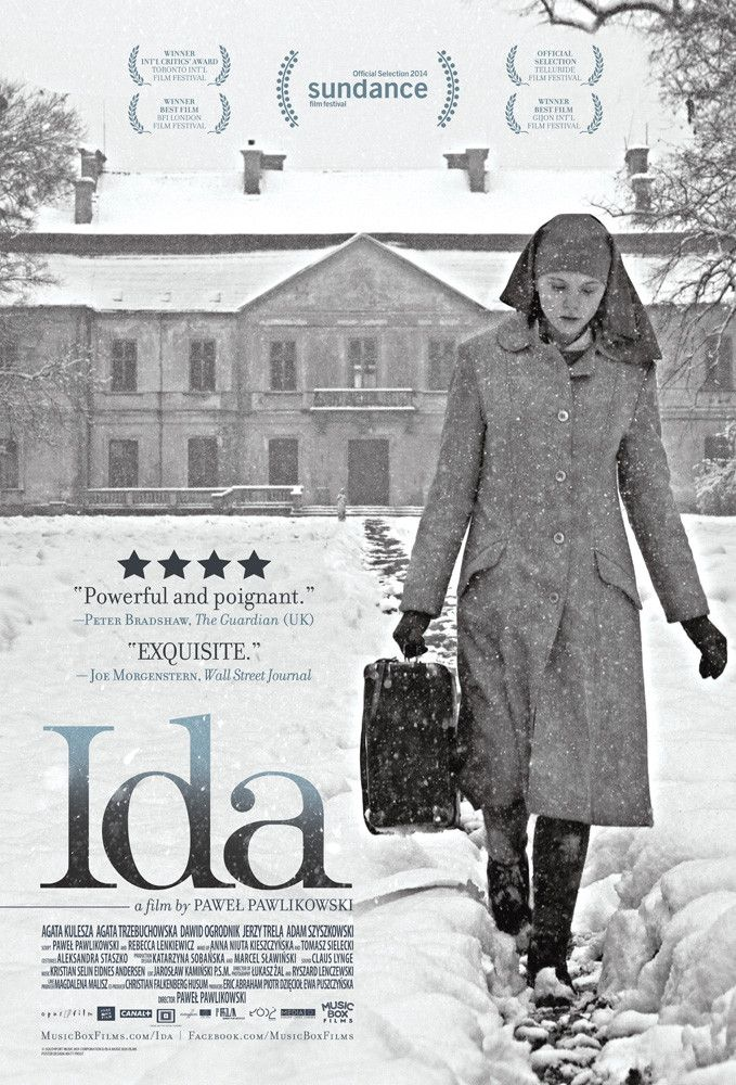 IDA - J6 - Dans la Pologne des années 60, avant de prononcer ses voeux, Anna, jeune orpheline élevée au couvent, part à la rencontre de sa tante, seul membre en vie de sa famille. Elle découvre alors un sombre secret de famille datant de l'occupation nazie. Réalisateur Pawel Powlikowski