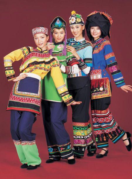 Show China 看中国-中国少数民族服饰-彝族