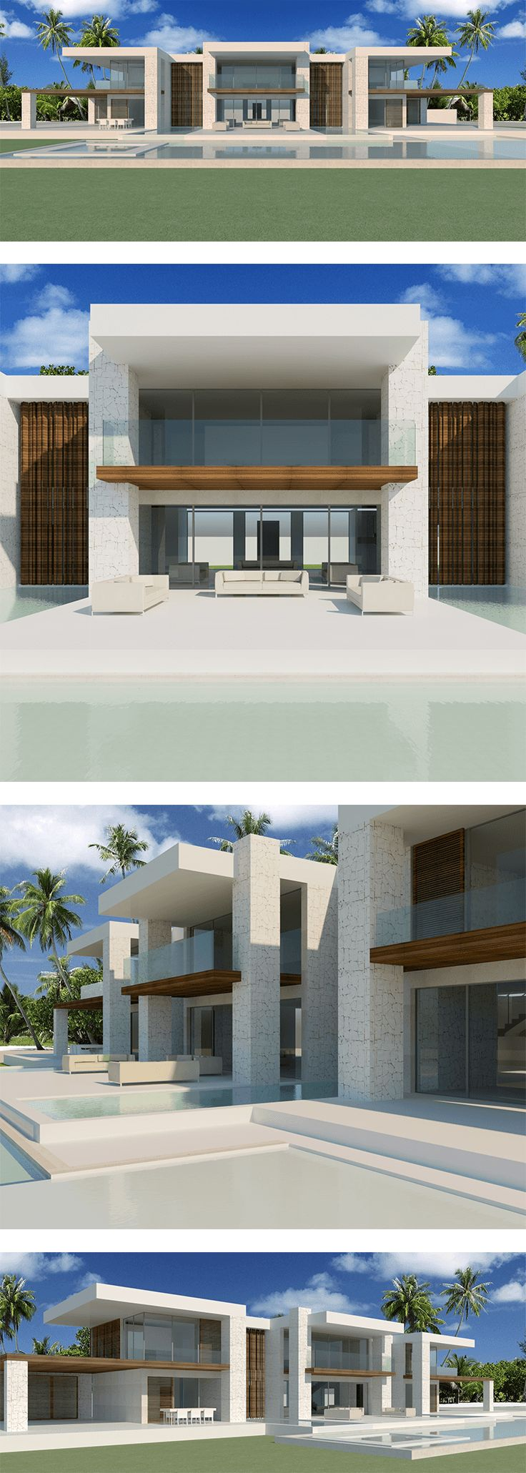 Trilogy House, #design by #Modern #Villas for a #Union #Island resort