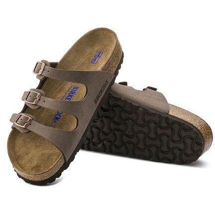 Birkenstock Florida Soft Footbed Sandal- Mocha from Shop Southern Roots TX