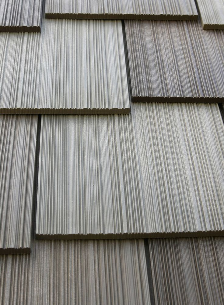 Roof Material: Engineered Cedar Shake | Roof Color: Weathered Gray | For  More Roofing