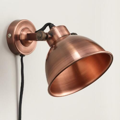 Copper Ethan Wall Sconce | World Market