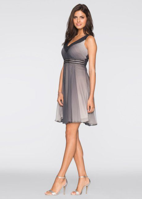Šaty s přechodem barev, BODYFLIRT, černá