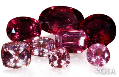 Garnets come in a multitude of colors including green and yellow, but are usually associated with the deep red variety from the minerals Almandite, Pyrope or Rhodolite. With a hardness of 7 to 7.5 on the Mohs scale, garnets are durable enough for daily wear. GIA. (021313)