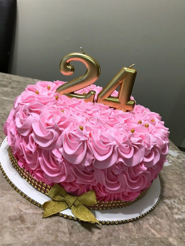 23 Pretty Photo Of 24th Birthday Cake With Images 24th