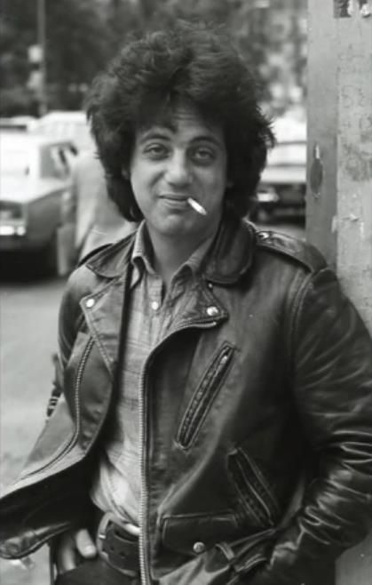 """we might be laughing a bit too loud, but that never hurt no one""Billy Joel   havin' a smoke   <3"