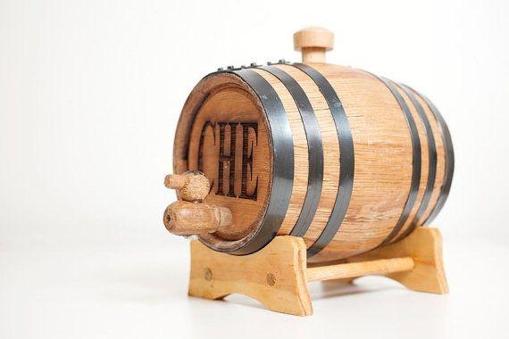 1 Liter Personalized Mini Whiskey Barrel by themanregistry on Etsy