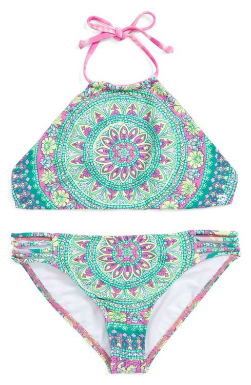 Main Image - Billabong 'Surf Friends' Two-Piece Swimsuit (Big Girls)