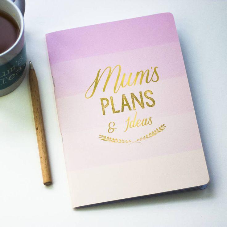 Mum Notebook – Little Pieces