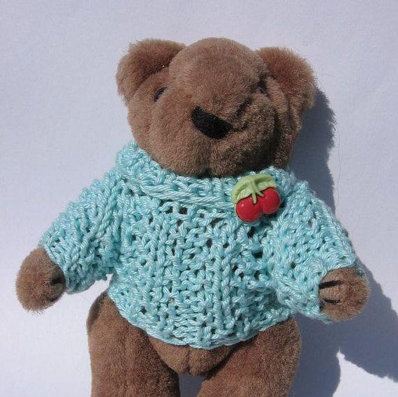 Teddy 15 cm  59 inch nutka_art handmade doll bear by nutkaart