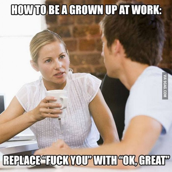 Just a bit of friendly career advice - 9GAG