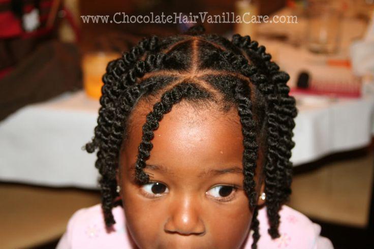 Chocolate Hair / Vanilla Care: African Hair Threading (Ghana Plaits)