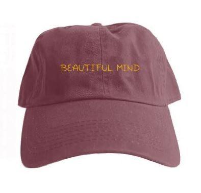 Beautiful Mind Hat (Maroon) - Jon Bellion, The Human Condition