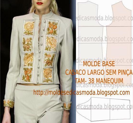 Moldes Moda por Medida: MOLDE BASE MANEQUIM