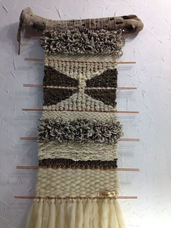 Hand Made Woven Wall Hanging Tapestry by WovenHomeArt on Etsy, $500.00