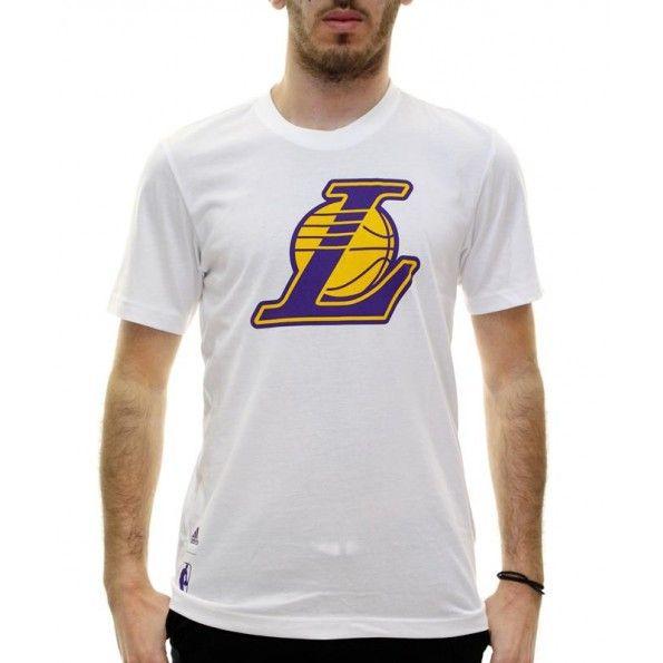 adidas Lakers Fanwear Tee - Multicolour | Adidas USA - Nba-Lal / White (S29934)