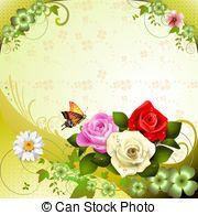 Ilustração Vetorial de rosas, borboletas, pretas, vectors - é, EPS, 10,... csp21310078 - Buscar Clip Arte, Ilustração, Desenhos e Clip Arte de imagens gráficas EPS