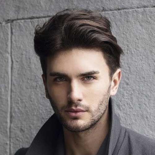 Cool Men Straight Haircut