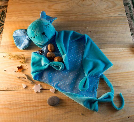 Игрушка комфортер для новорожденных Мышка от DjaDjuShop на Etsy