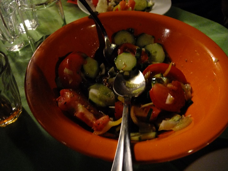 A true greek salad