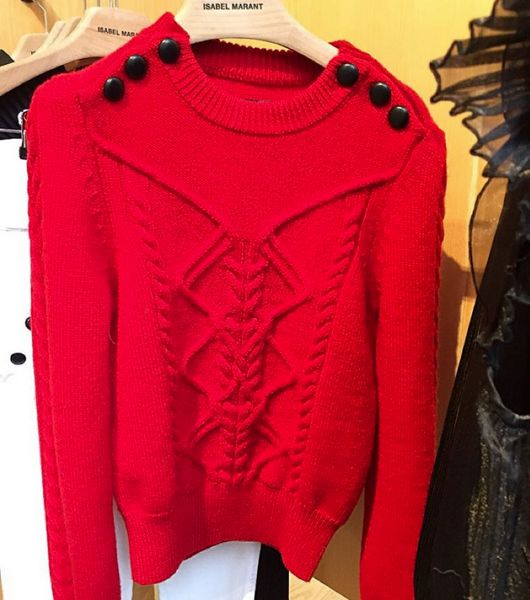 Christmas Sweater purchase @isabelmarant #KRAVESALE