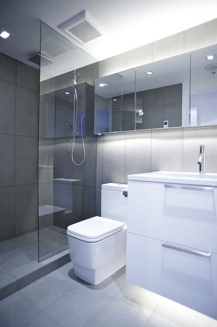 Modern Bathroom Sleek Lines Dream Bathrooms Pinterest